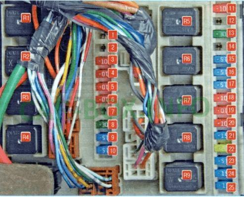 fuse box diagram nissan x-trail (t31), 2007 - 2015  fuse box diagrams